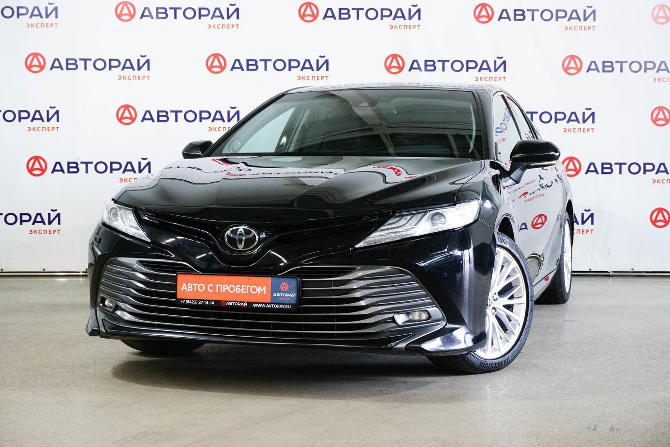 Toyota Camry, VIII (XV70) 2018г.