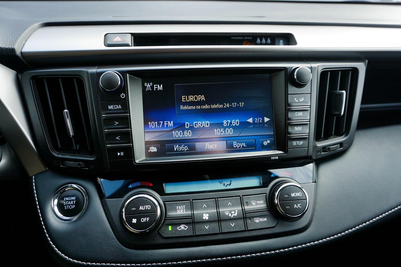 Toyota RAV4, IV (CA40) Рестайлинг 2018г.