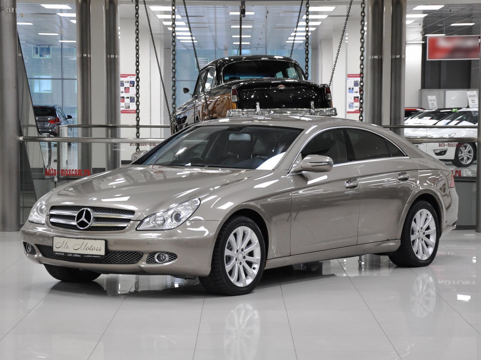 Mercedes-Benz CLS-klasse с пробегом в Москве. Автомобильная компания Mr.Motors
