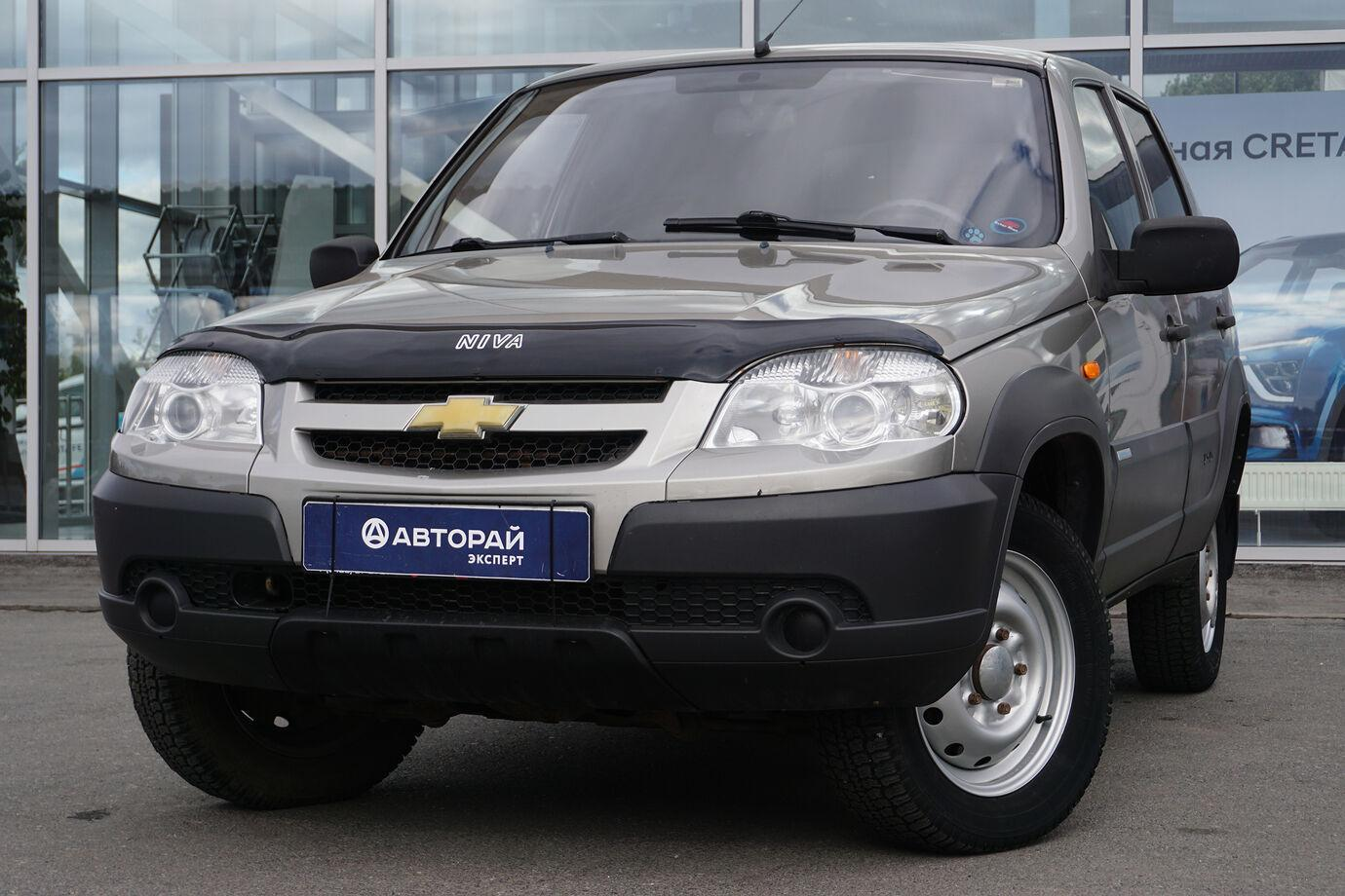Chevrolet Niva, I Рестайлинг 2011г.