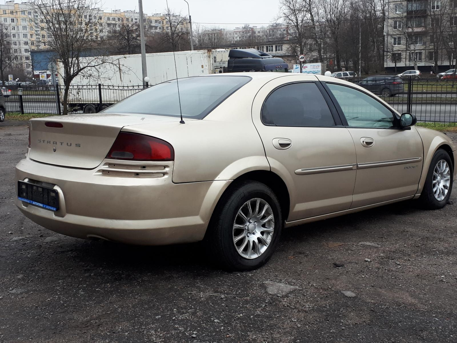 Dodge Stratus 2001г.