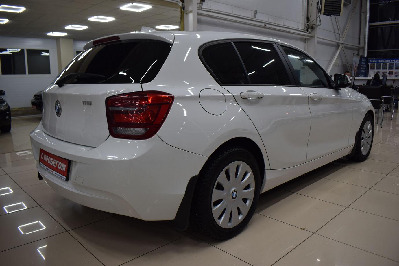 BMW 1 серия, II (F20/F21) 2012г.