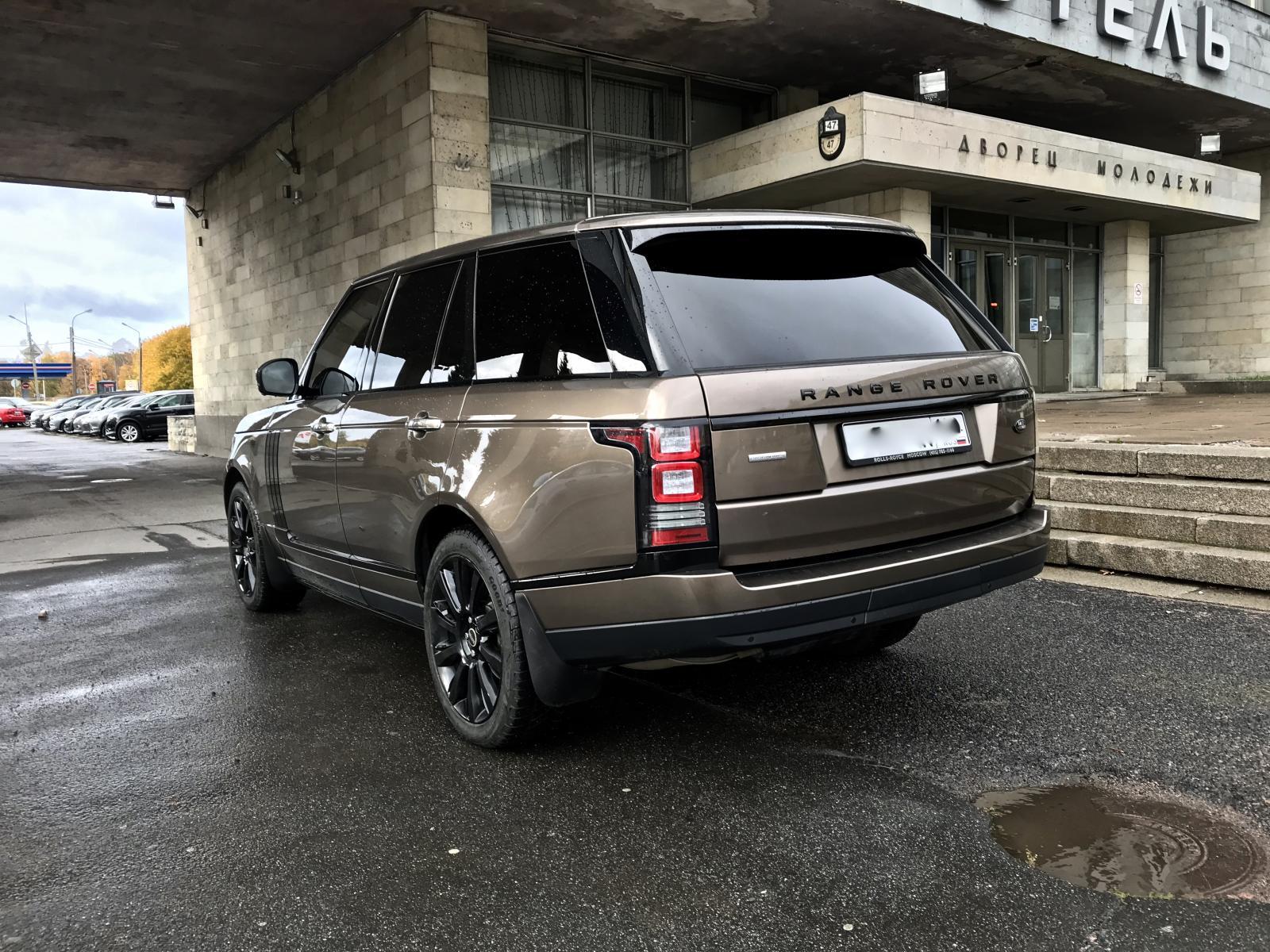 Land Rover Range Rover 2012г.