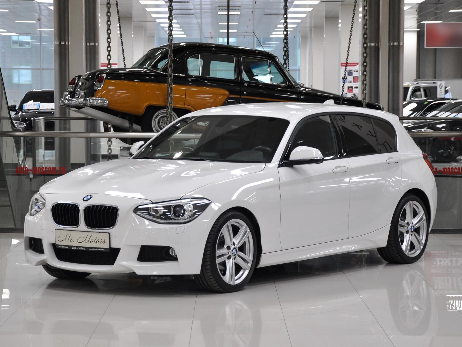 BMW 1 серия с пробегом в Москве. Автомобильная компания Mr.Motors