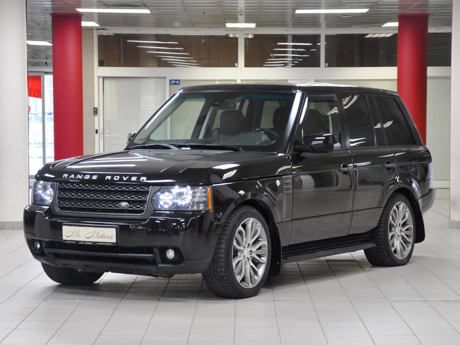 Land Rover Range Rover с пробегом в Москве. Автомобильная компания Mr.Motors