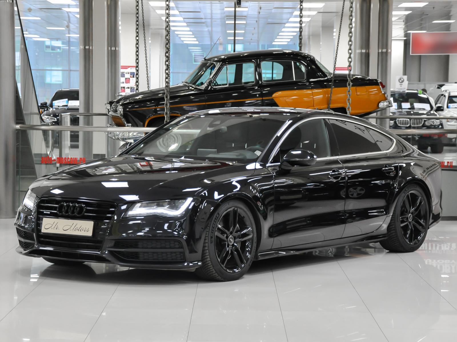 Audi A7 с пробегом в Москве. Автомобильная компания Mr.Motors