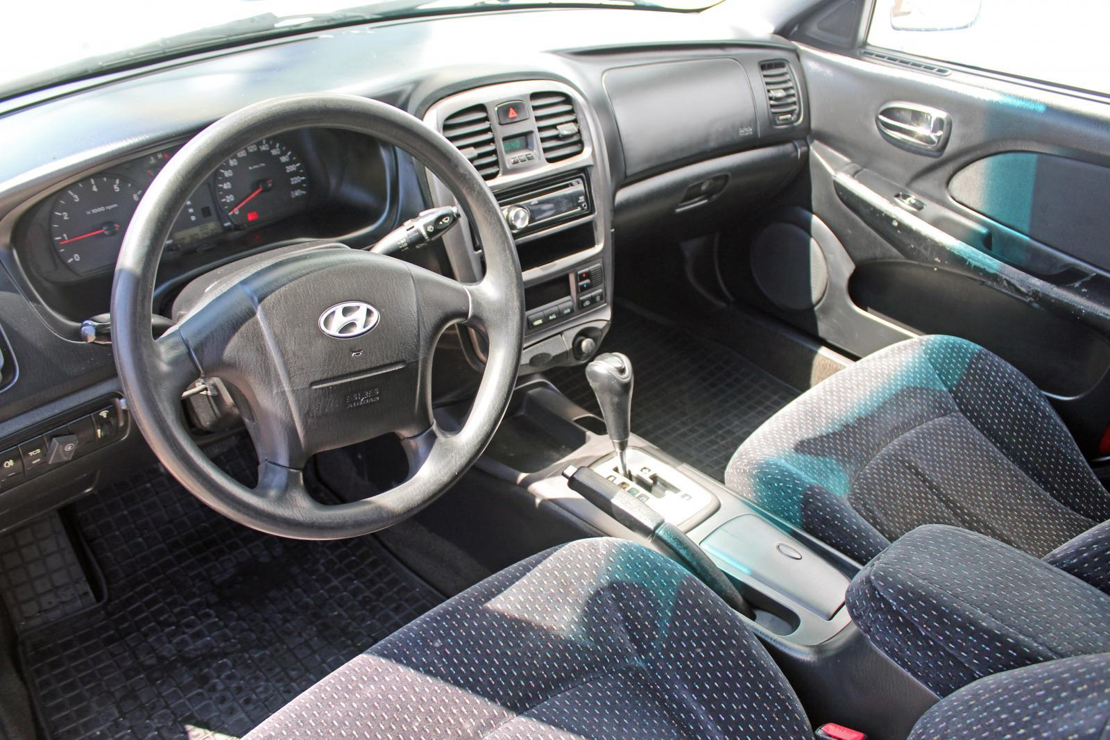 Hyundai Sonata, IV (EF) Рестайлинг 2008г.