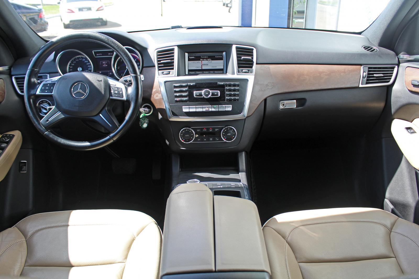 Mercedes-Benz M-Класс, III (W166) 2013г.
