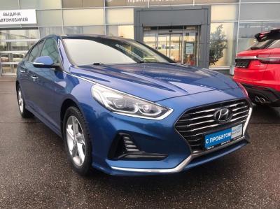 Hyundai Sonata, VII (LF) Рестайлинг