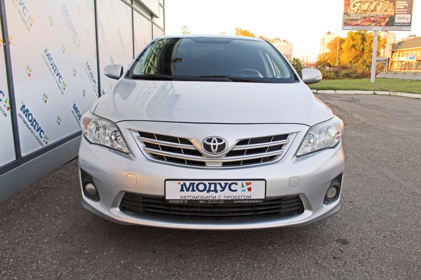 Toyota Corolla, X (E140, E150) Рестайлинг 2012г.
